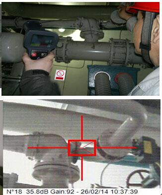 电厂真空测漏可视化新技术